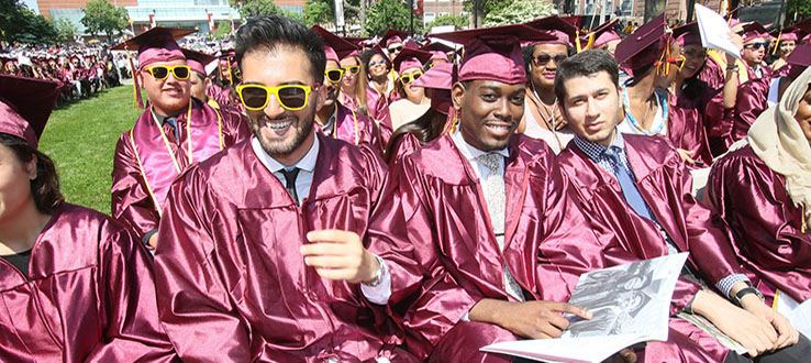 After all your hard work, Student Affairs makes your commencement process easy.