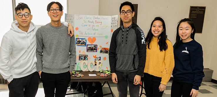 Cultural and identity-based clubs reflect the impressive diversity on campus.