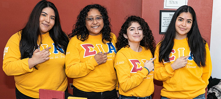 Sororities and fraternities promote strong friendships, develop leaders, and engage in meaningful community service.