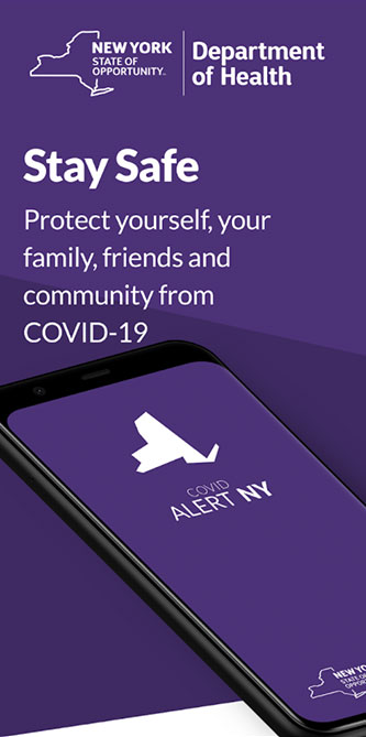 Download the COVID Alert NY Mobile App!