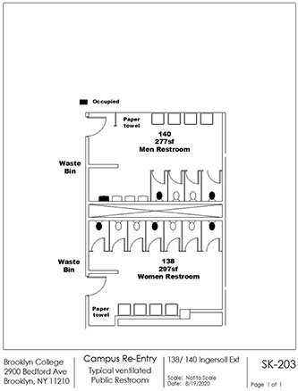Appendix D. Facilities Planning Space Analysis – Typical Room Type Occupancy Diagram