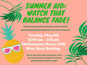 Summer Aid: Watch that Balance Fade!