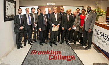 Brooklyn College Launches M.D. Sass Investment Academy