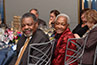 <p>Leslie L. Clarke Sr. and former Councilwoman and current CUNY Trustee Una Clarke.</p>