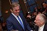 <p>Fox News correspondent-at-large Geraldo Rivera meets legendary Yankees pitcher Jim Bouton.</p>