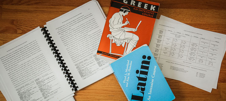 Our textbooks, now widely used, were designed and written specifically for the institute.