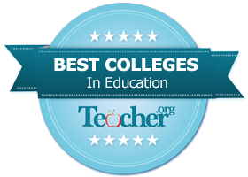 Teacher.org school rankings badge