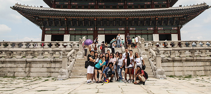 Classes combine with cultural excursions to provide a comprehensive education.
