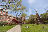 East Quad with Boylan Hall and the Brooklyn College Library